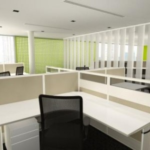 Directions 50 Base Ducted 4 Cluster Office Scene